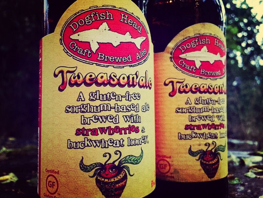 gluten free beer tweason'ale dogfish head beer review