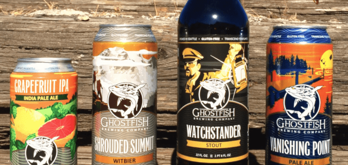 ghostfish brewing company best gluten free beers brands 2016 james page brewery a cappella gluten free pale ale stout Ripa