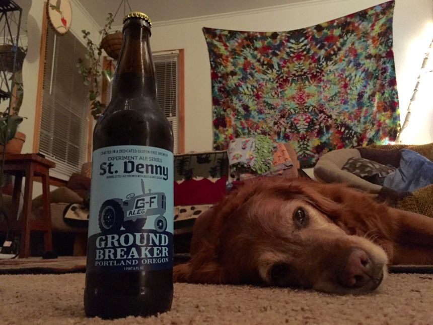 ground breaker dubbed style ale ground breaker brewing company gluten free beer review st denny's belgian ale beet date sugar seasonal brew