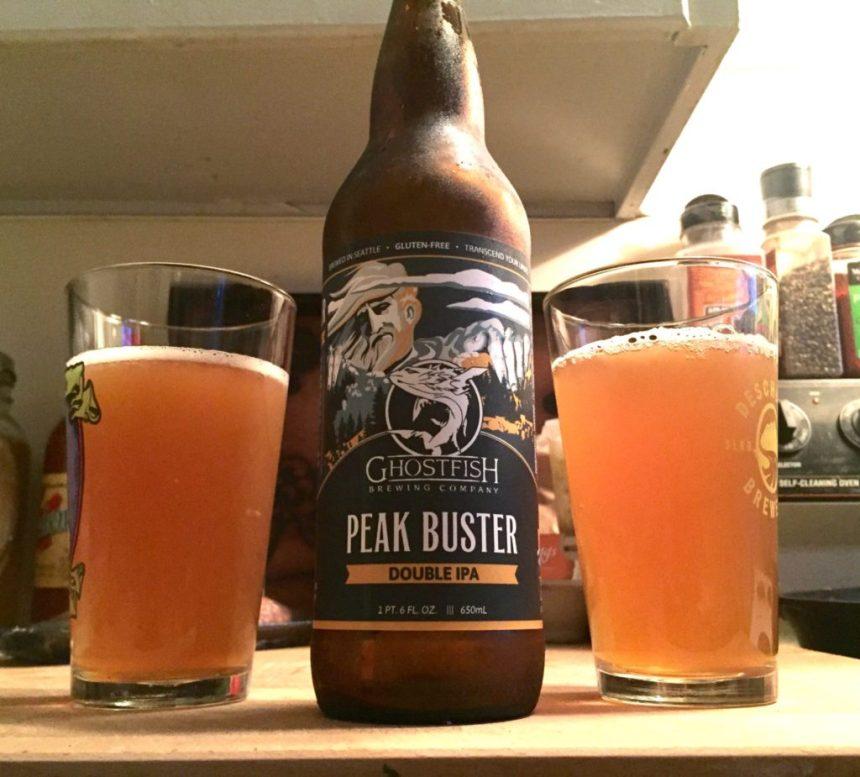 gluten free beer review ghost fish brewing peak buster imperial ipa best gluten free beer brands
