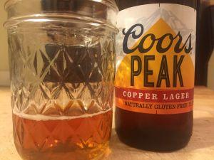coors peak lager gluten free beer