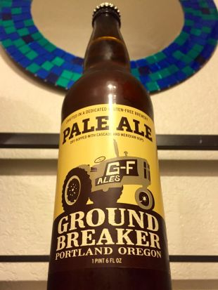 best gluten free beer review ground breaker pale ale