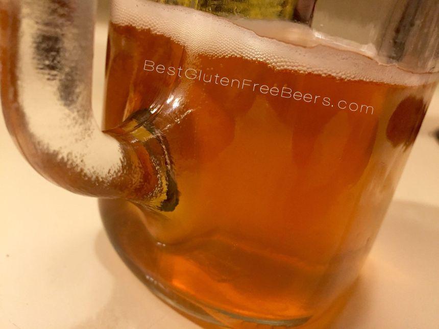 Best gluten free beers review duck foot brewing blonde ale the looker