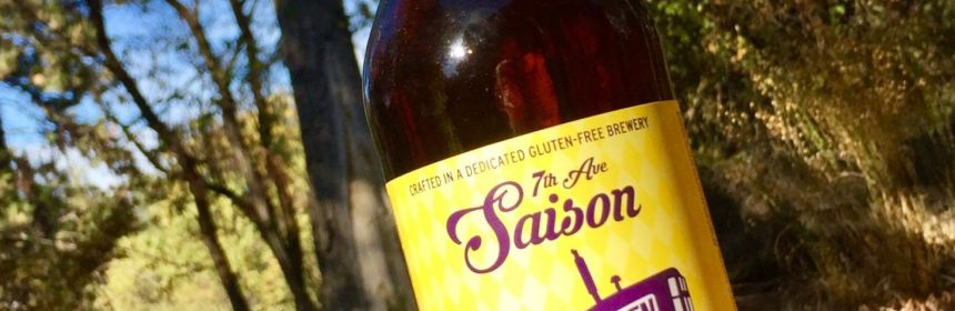 gluten free beer reviews ground breaker brewing 7th ave saison