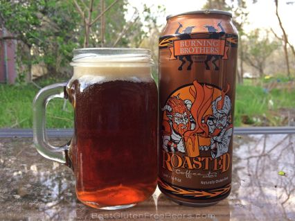 Gluten Free Beer Review: Burning Brothers Roasted Coffee Strong Ale