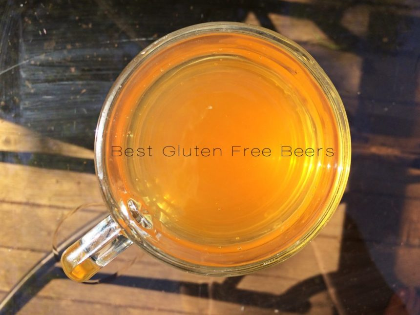 Ghostfish Brewing Meteor Shower Blonde Ale - Gluten Free Beer Review - gluten reduced beer