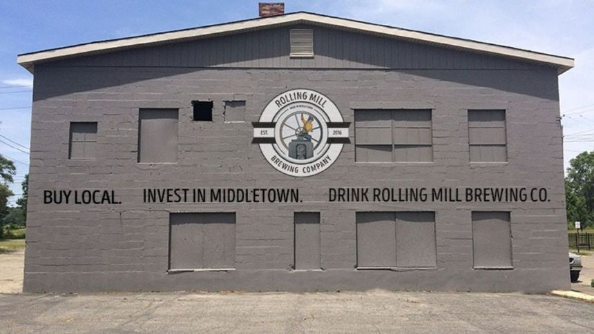 rolling mill brewing co middletown ohio