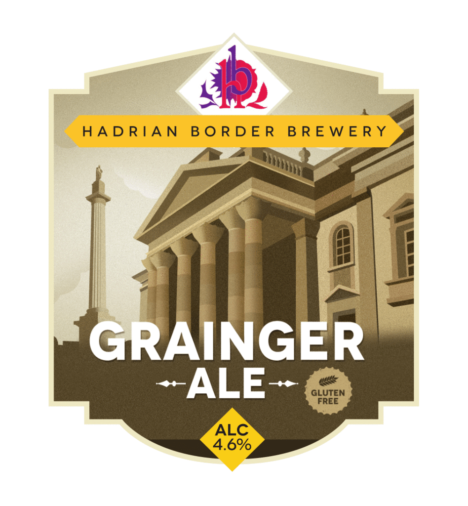 grainger ale by hadrian border brewery