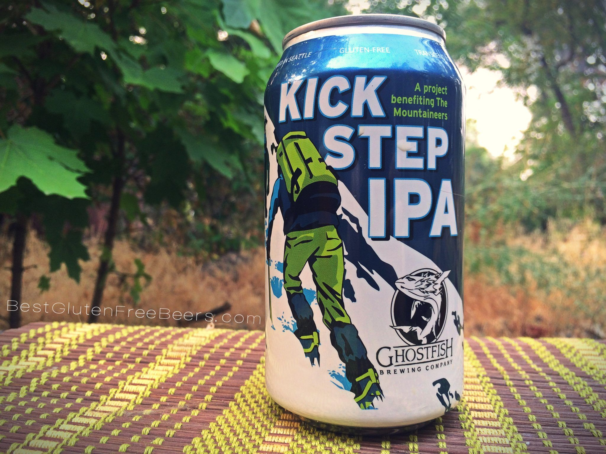 Ghostfish Brewing Company Kick Step IPA Gluten Free Beer Review