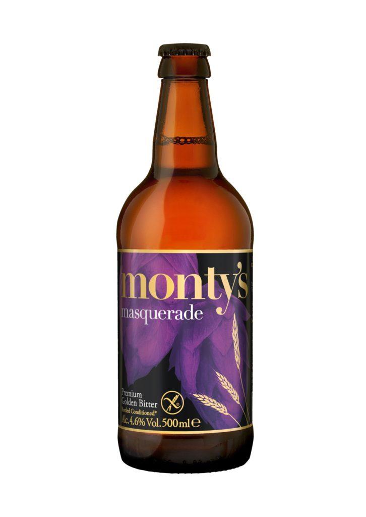 Masquerade Monty's Brewery Gluten Reduced Beers