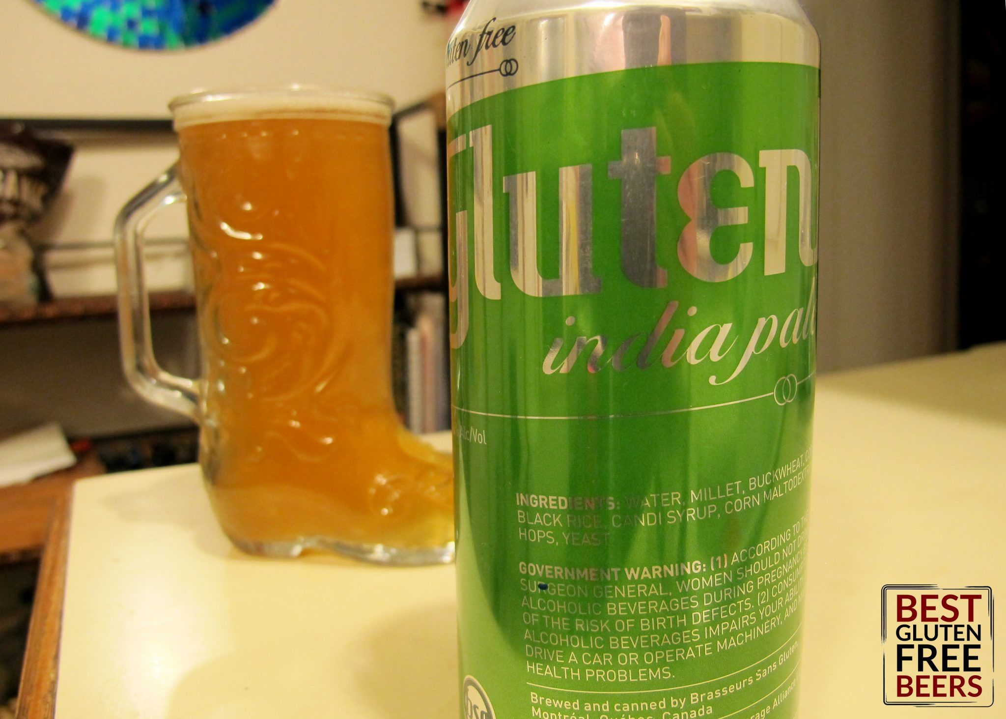 Glutenberg IPA Canadian Beer Review