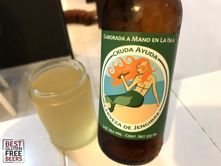 Isla Brewing Company Ginger Beer Cruda Ayuda Gluten Free Beer Review 2