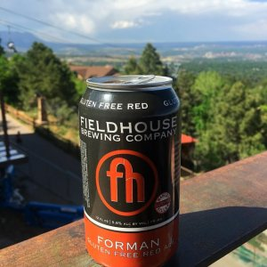 Fieldhouse Brewing Company gluten free beer