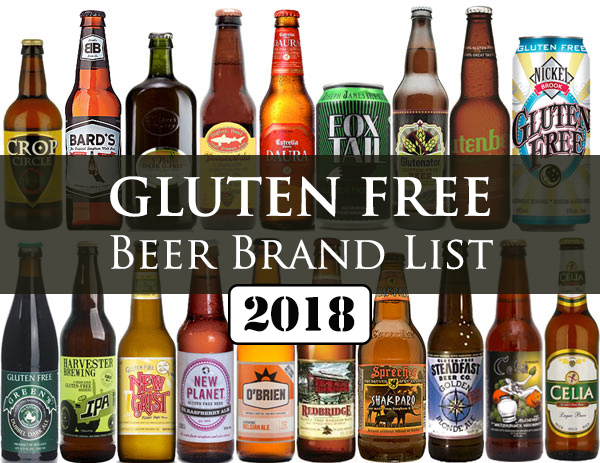 Best Gluten Free Beer Brands - 2018 List