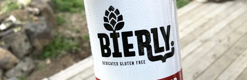 Bierly Brewing Felix Pilsner Gluten Free Beer Review