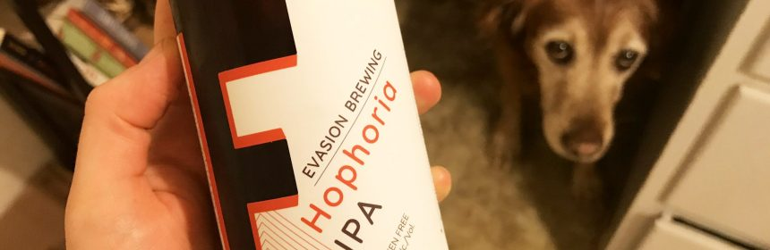Evasion Brewing Hophoria IPA Gluten Free Beer Review