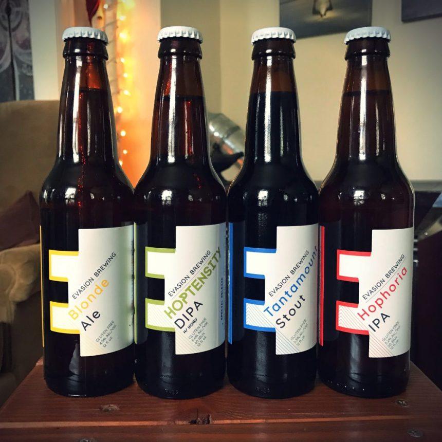 Evasion Brewing Hophoria IPA Gluten Free Beer Review