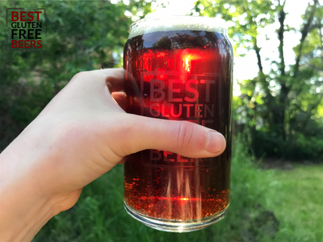 Ghostfish Brewing Amber Ale 2019 gluten free beer review