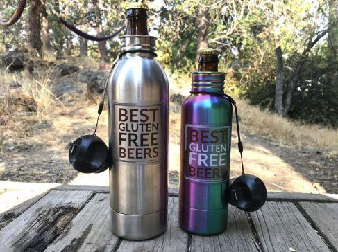 Keep your beer cold with BottleKeeper. Keep Your Beer Bottles Cold, Beer Bottle Insulator, Best Gluten Free Beers