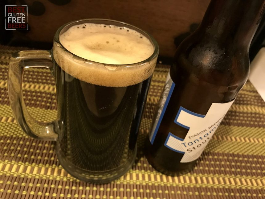 Evasion Brewing Tantamount Stout Gluten Free Beer Review