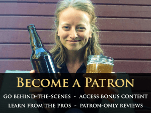 Become a Best Gluten Free Beers Patron