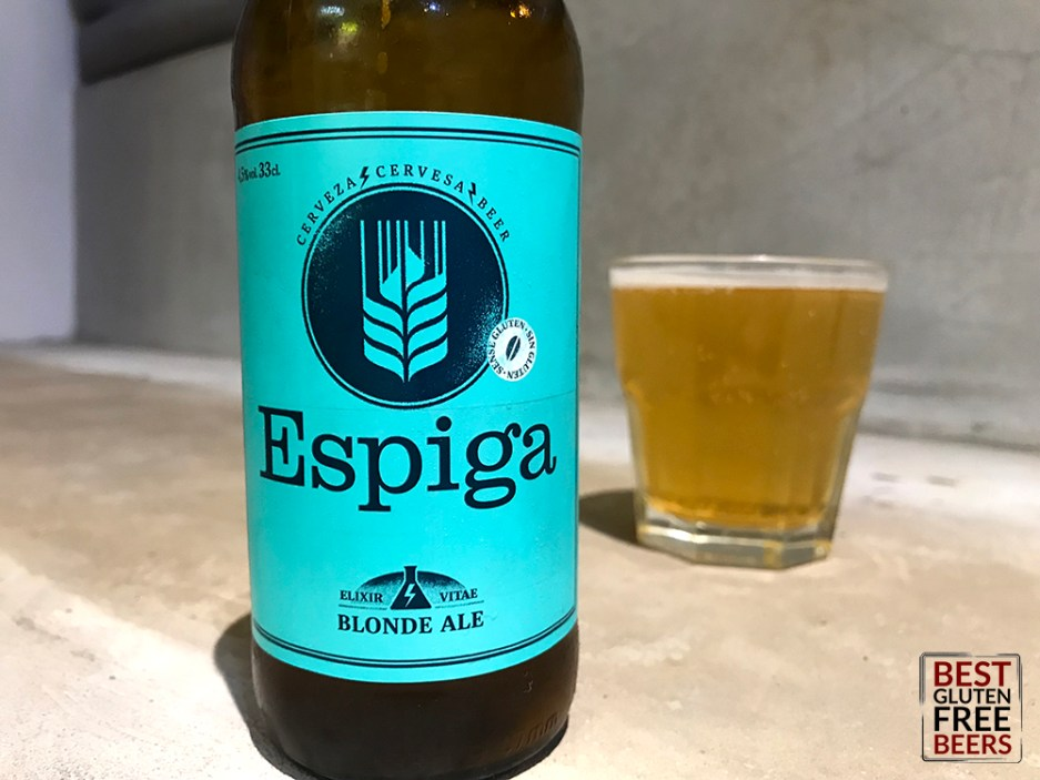 espiga blonde ale gluten reduced gluten free beer in spain