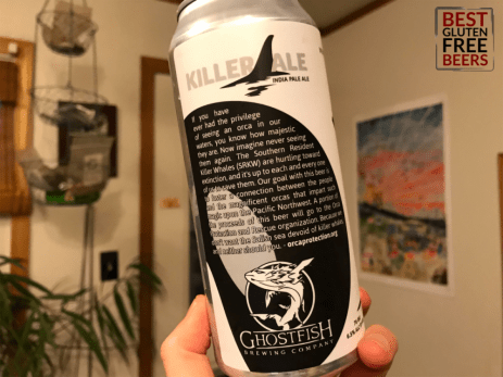 Ghostfish Brewing Killer Ale IPA gluten free beer review