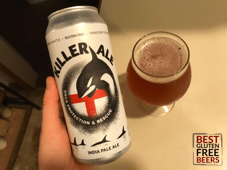 Ghostfish Brewing Killer Ale IPA gluten free beer review