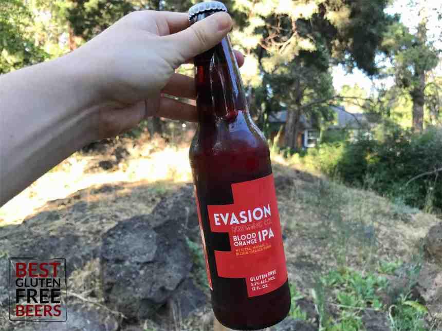 Evasion Brewing Blood Orange IPA