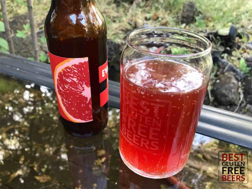 gluten free beers Evasion Brewing Blood Orange IPA
