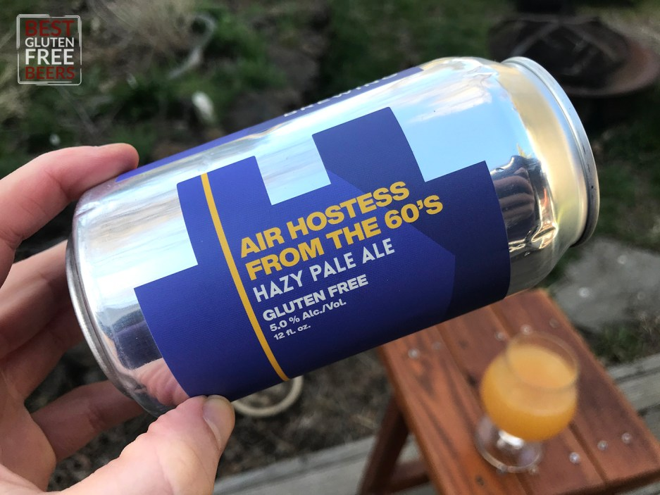 Evasion Brewing Air Hostess From The 60s Hazy Pale  gluten free beer