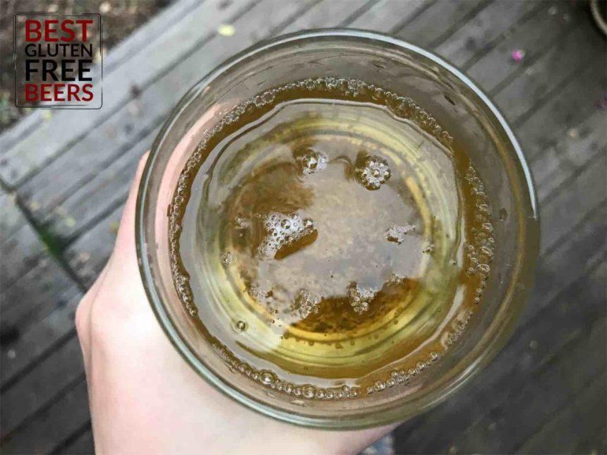 wild ohio brewing peach tea beer gluten free