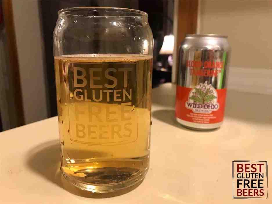 wild ohio blood orange tangerine tea beer gluten free