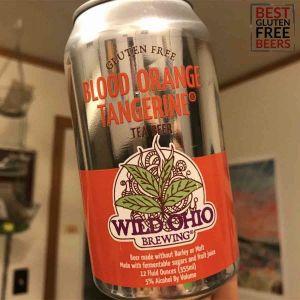 wild ohio brewing co gluten free tea beer
