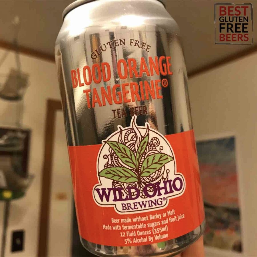 wild ohio brewing co gluten free tea beer