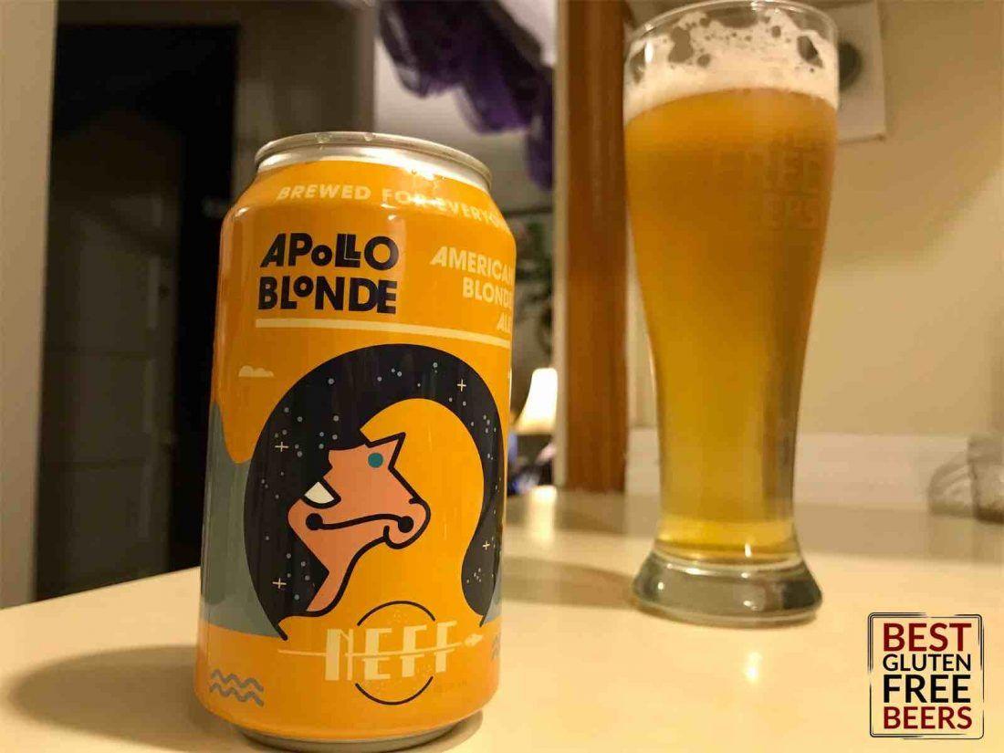 apollo blonde ale gluten free american blonde ale
