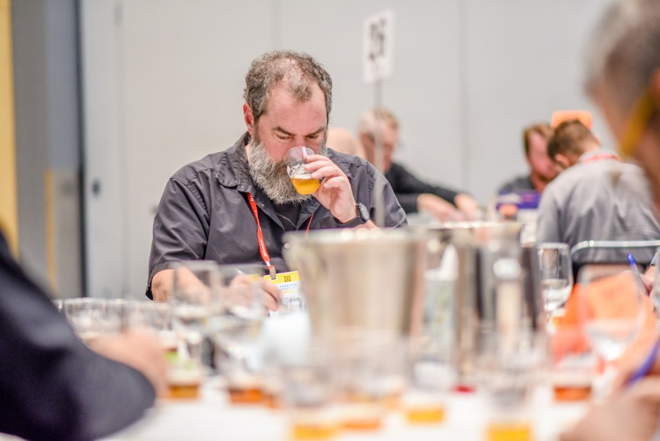 Great American Beer Festival 2019 gluten free beer category judging tasting
