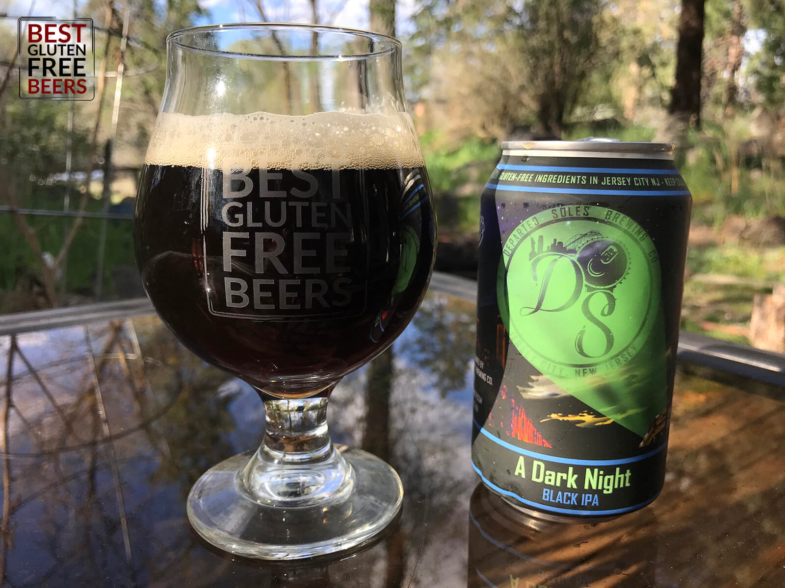 Departed Soles Brewing A Dark Knight Black IPA