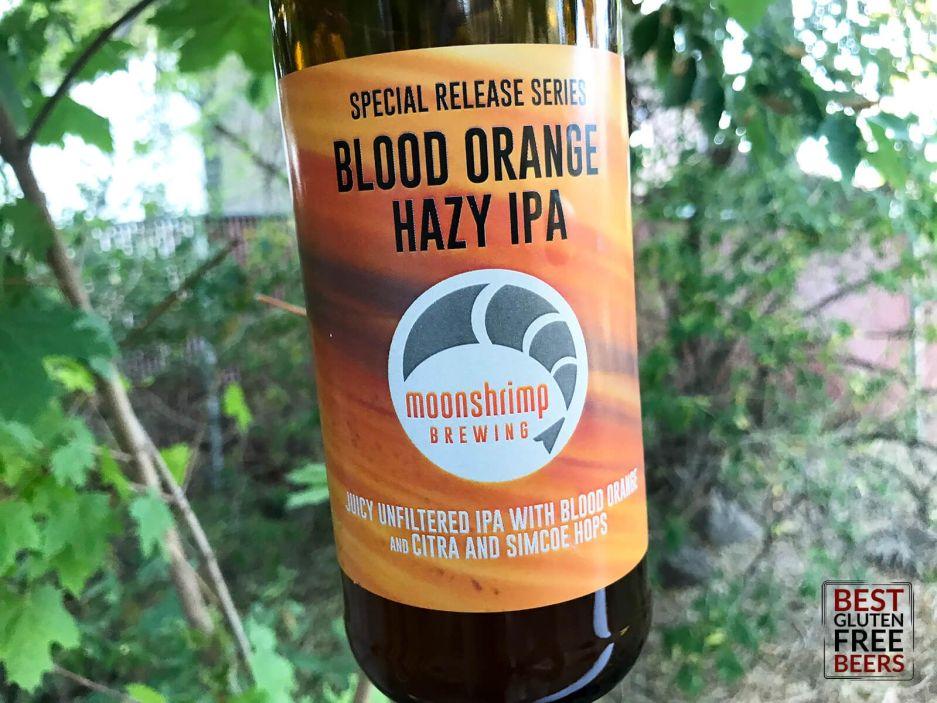 Moonshrimp Brewing Blood Orange Hazy IPA 6