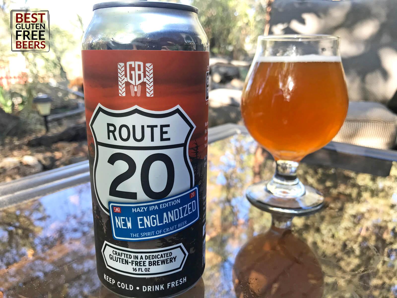 Ground Breaker Route 20 New Englandized Hazy IPA 2020