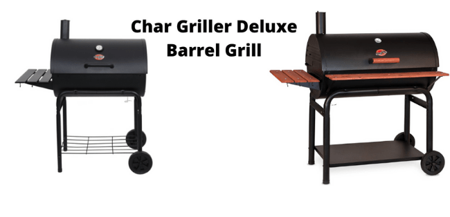 Char Griller Deluxe Barrel Grill