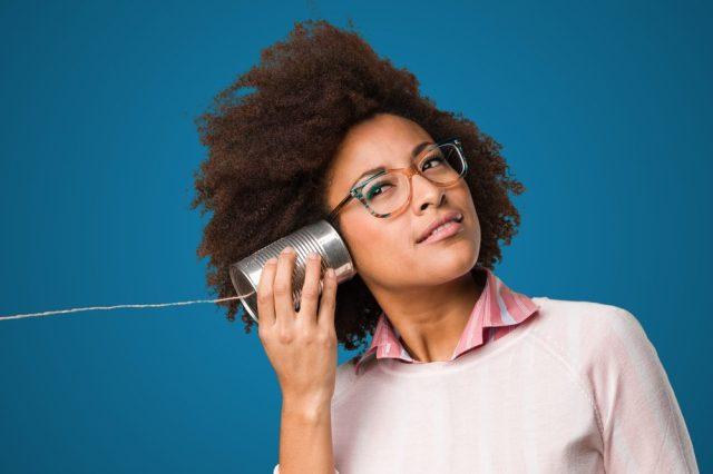 woman listening_ ringing ears