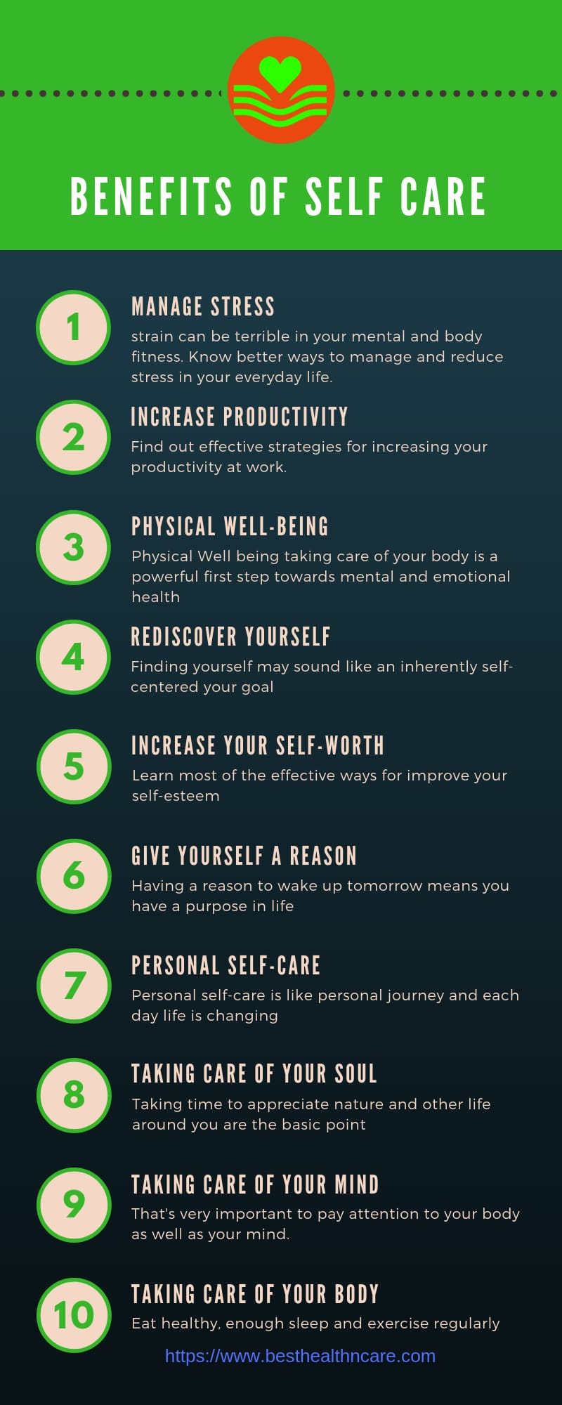 Benefits of Self Care