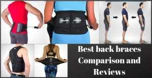 Best back braces Comparison and Reviews
