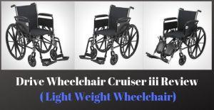 Drive Wheelchair Cruiser iii