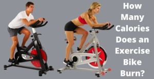 how many calories does an exercise bike burn