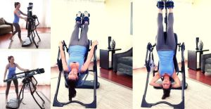 how does an inversion table work