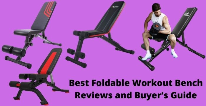 foldable workout bench