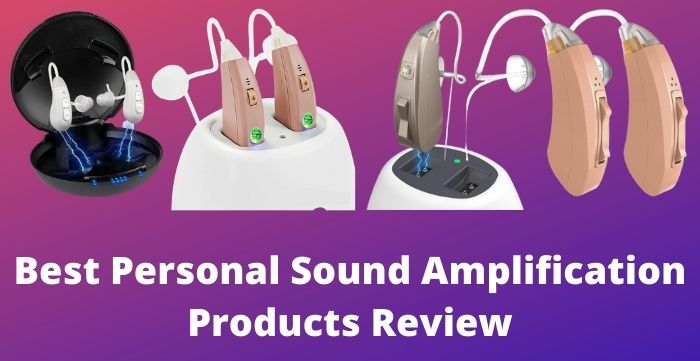 personal sound amplification products