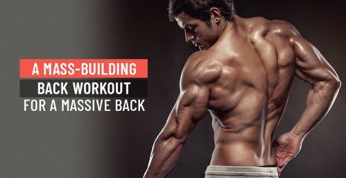 back workout for a massive back